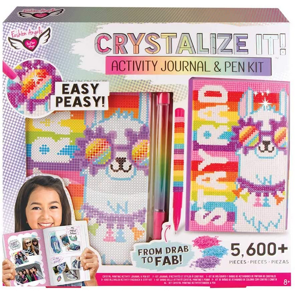 Crystalize It! Activity Journal & Pen Kit