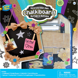 Decorate Your Own Burlap Chalkboard