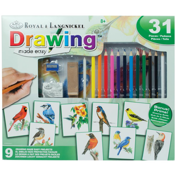 Drawing Made Easy Birds Box Set