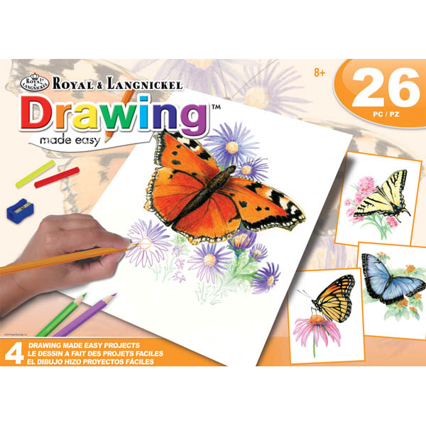 Drawing Made Easy Butterflies Box Set