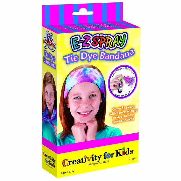 E‑Z Spray Tie Dye Bandana Mini Kit