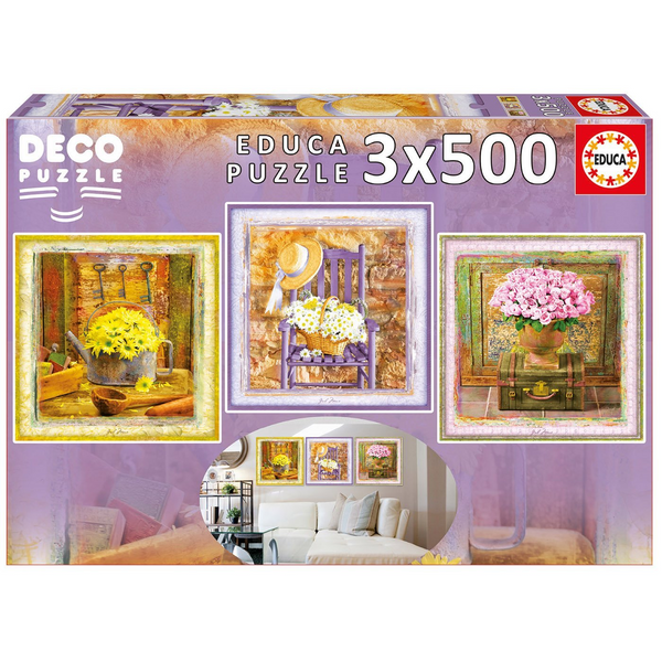 Enchanted Moments 3-500 Piece Puzzles