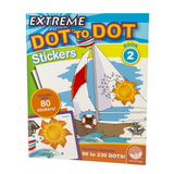 Extreme Dot To Dot Stickers Book