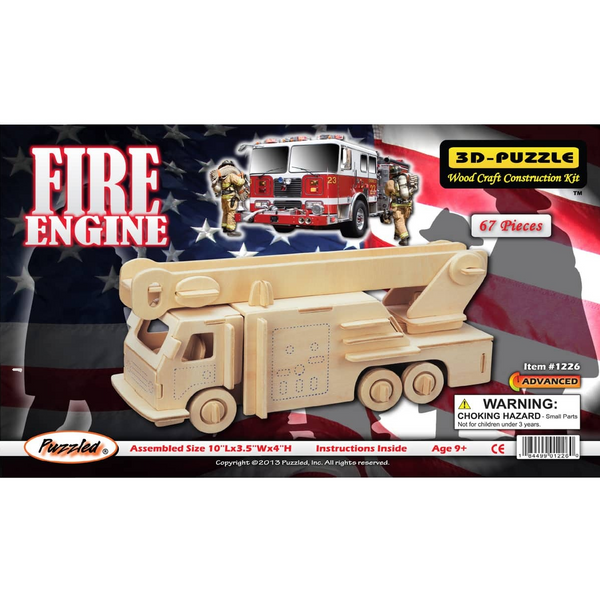 Fire Engine 3D Puzzle