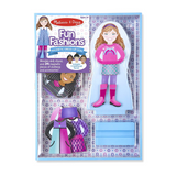 Fun Fashions Dress Up Magnetic Doll Kit