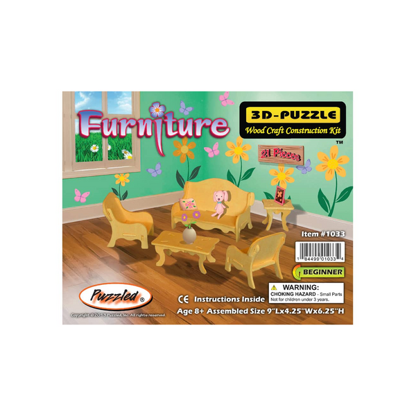 Furniture 3D Puzzle