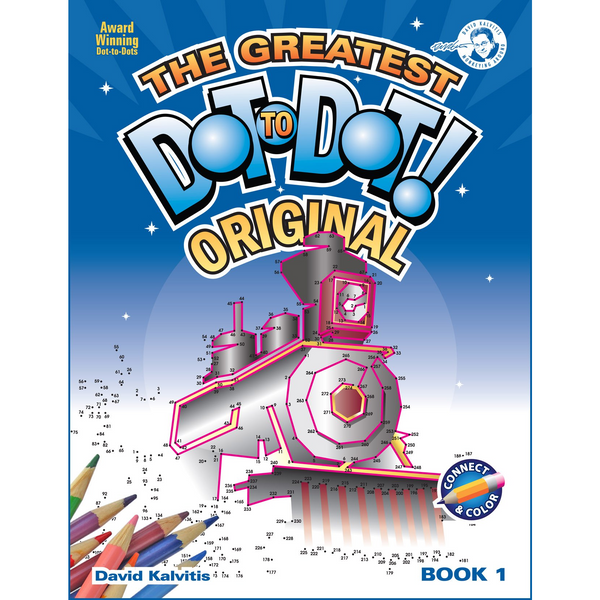 Original Greatest Dot To Dot Book