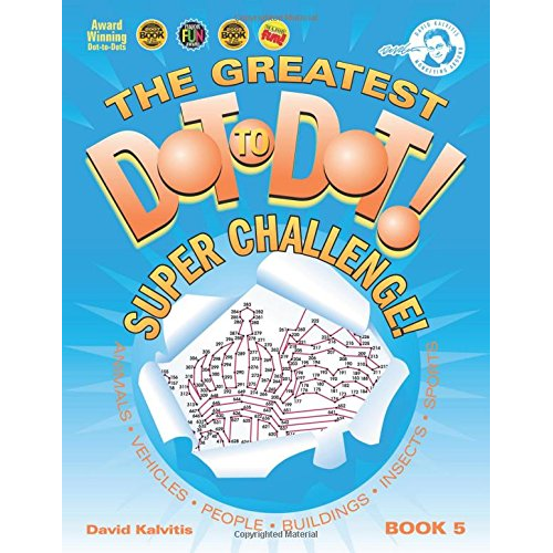 Dot To Dot Super Challenge Book