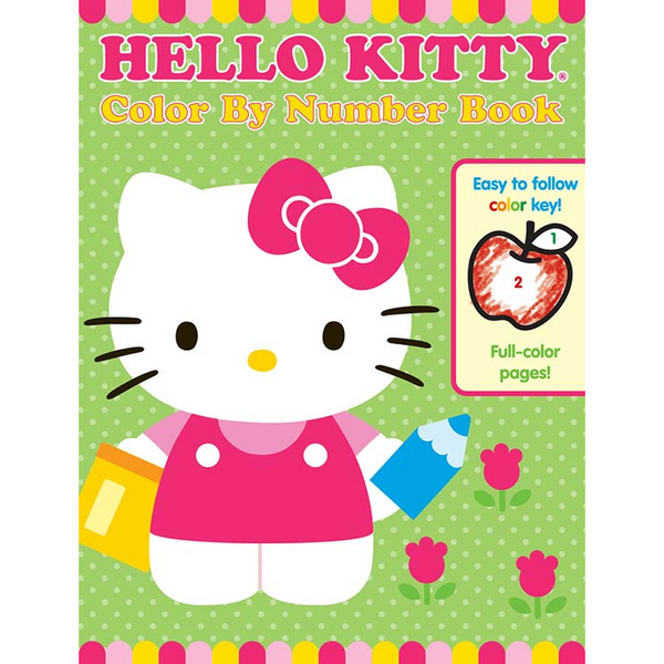 Hello Kitty Color By Number