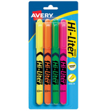 Hi Liter Fluorescent Pen Style Highlighters