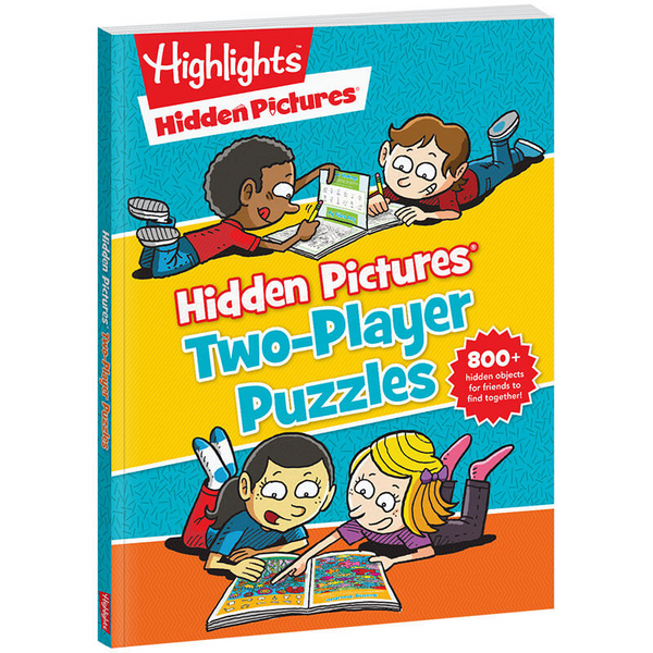 Hidden Pictures 2 Player Puzzles