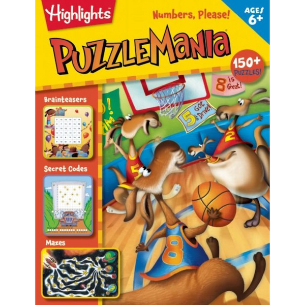 Highlights Puzzle Mania Numbers, Please!