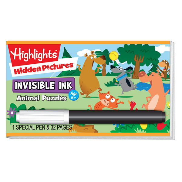 Highlights Invisible Ink Activity Book