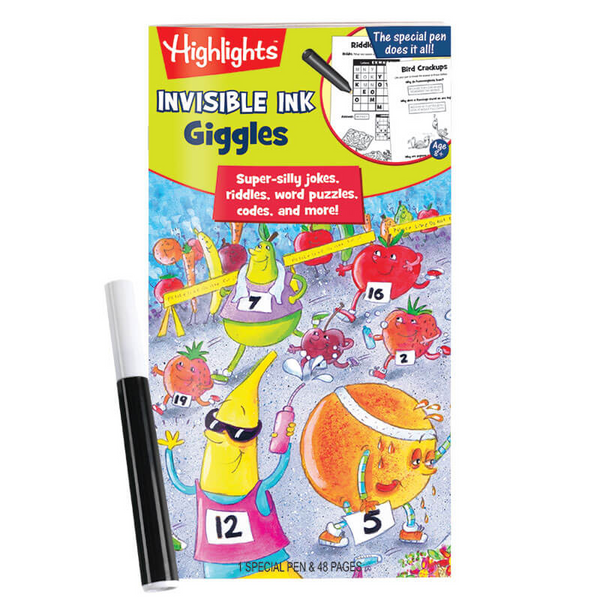 Highlights Giggles Invisible Ink Book