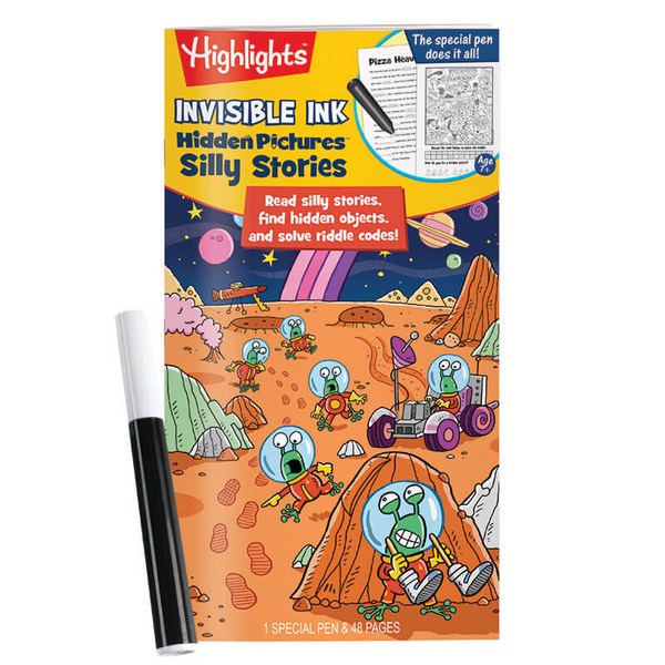 Highlights Silly Stories Invisible Ink Book