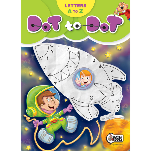 Letters A to Z Dot To Dot Book