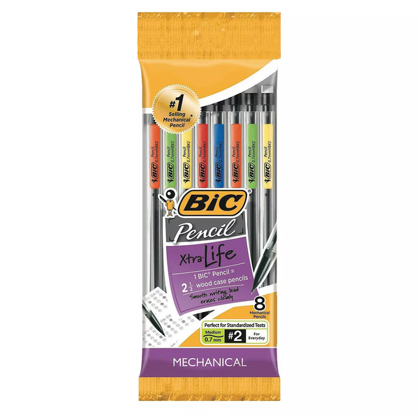 Mechanical Pencil 8 Pk 0.7