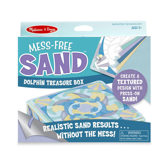 Mess Free Sand Dolphin Treasure Box