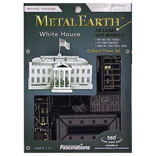 Metal Earth White House
