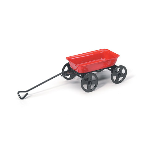 Miniature Metal Wagon