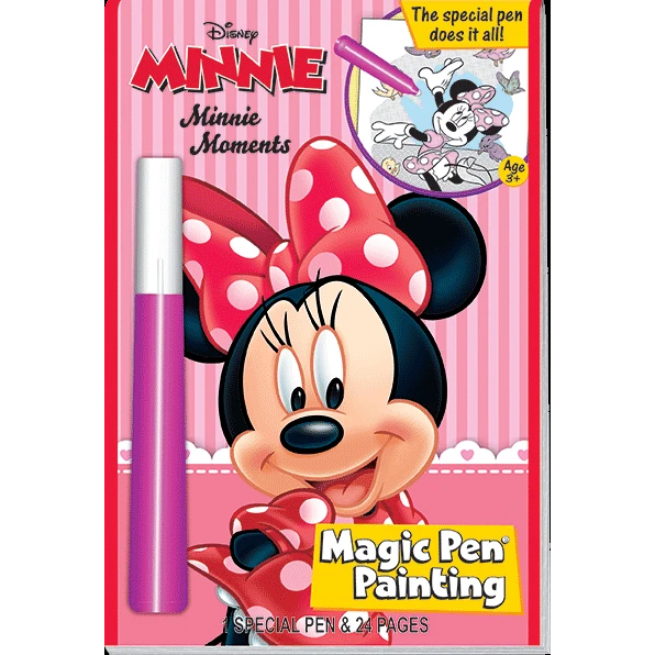 Minnie Mouse Magic Pen Painting Book