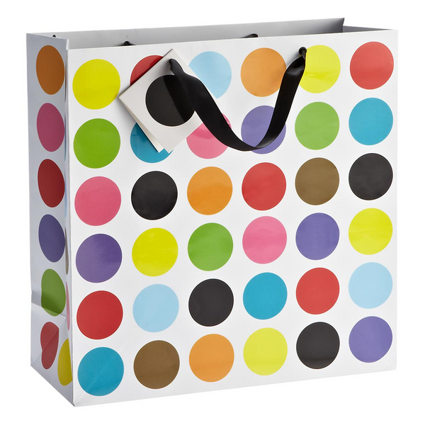 Multi Dot Large Gift Bag