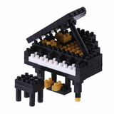 Nano Block Grand Piano Black