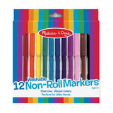 Non Roll Washable Markers