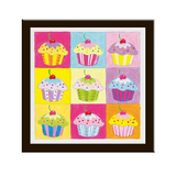 Paint By Number Cupcake Pop Art