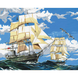 Paint By Number Sailing Ships