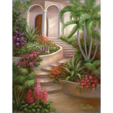 Paint Your Own Masterpiece 11 x 14 Tropical Garden