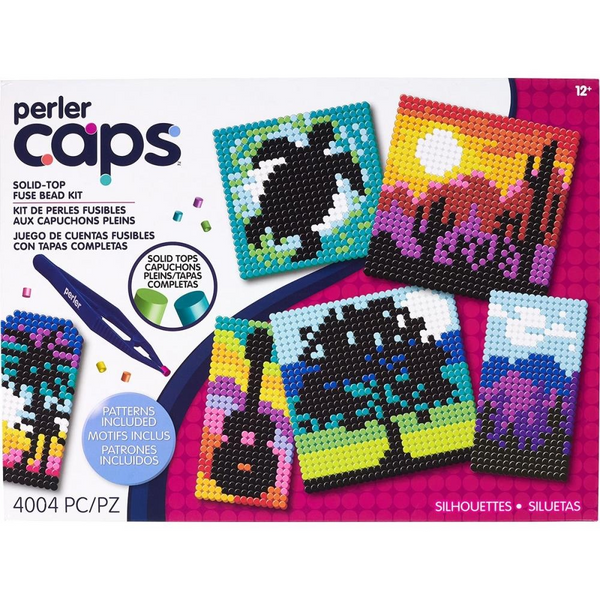 Perler Cap Silhouettes Deluxe Activity Kit
