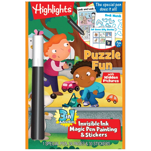 Highlights Magic Ink 3 In 1 Book