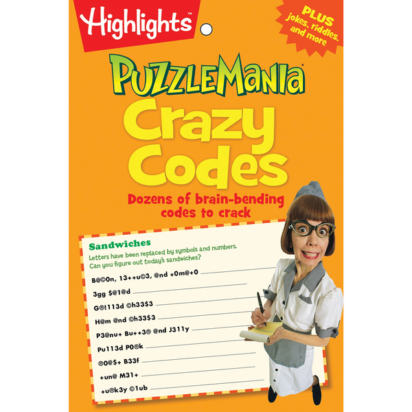 Puzzlemania Crazy Codes