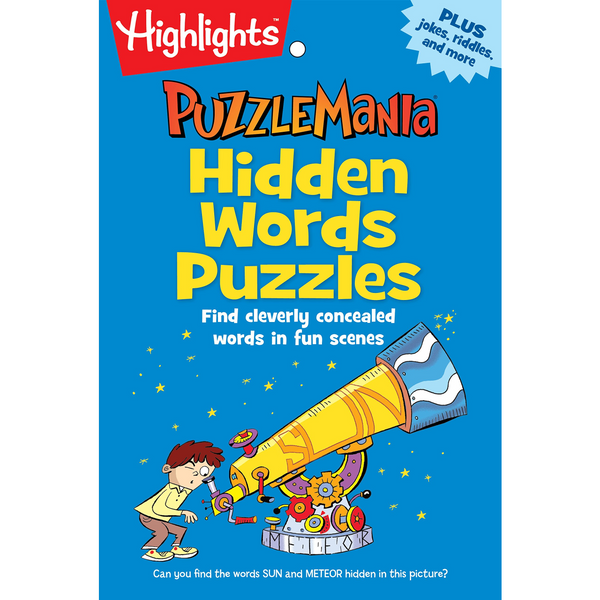 Puzzlemania Hidden Words Puzzles