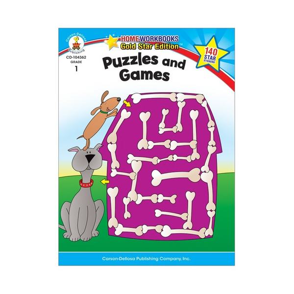 Puzzles & Games Activity Book