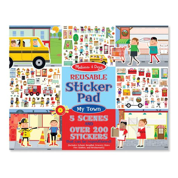Reusable Stickers & Scenes Pad