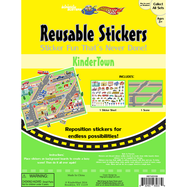 Reusable Sticker Scenes
