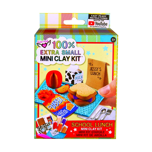 School Lunch Mini Clay Kit
