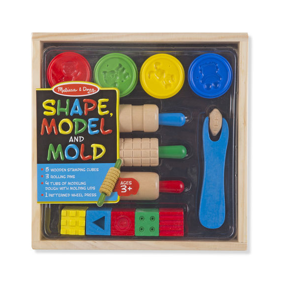 Shape, Model & Mold Play Clay Kit