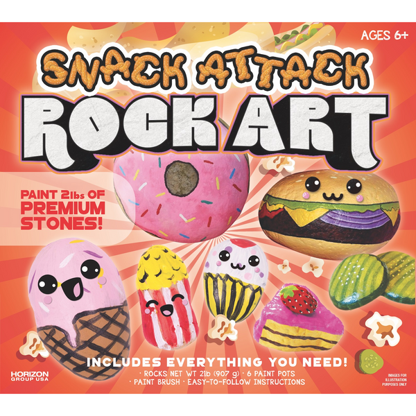 Snack Attack Rock Art