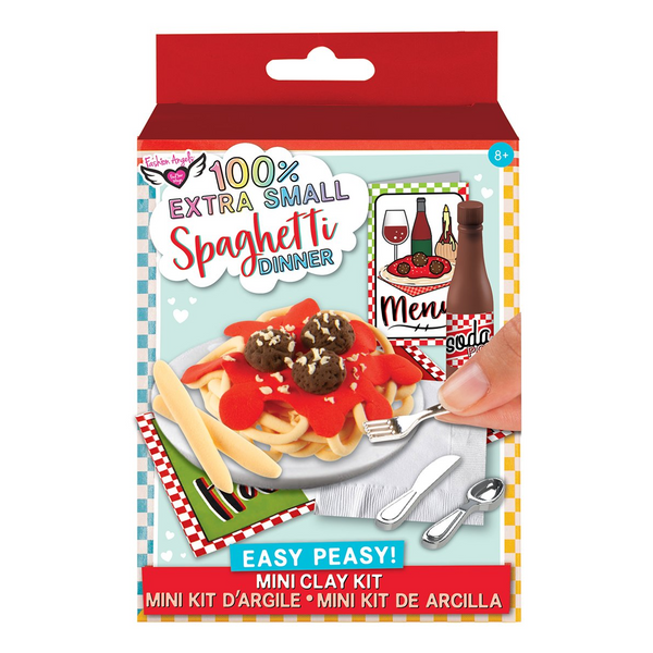 Spaghetti Dinner Mini Clay Kit
