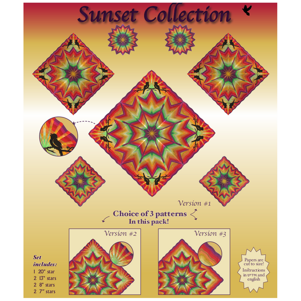 Sunset Collection Star Sets