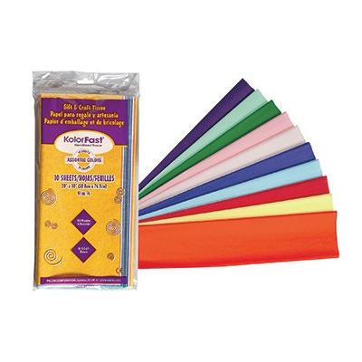 Colorfast Tissue Paper