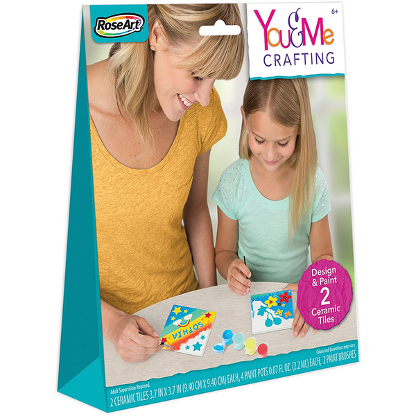 You & Me Crafting Ceramic Tiles