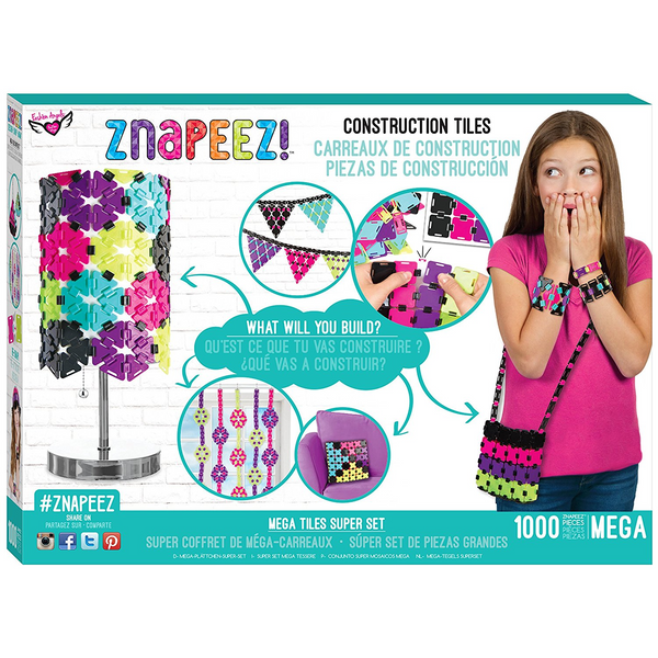 Znapeez Mega Tiles Super Set