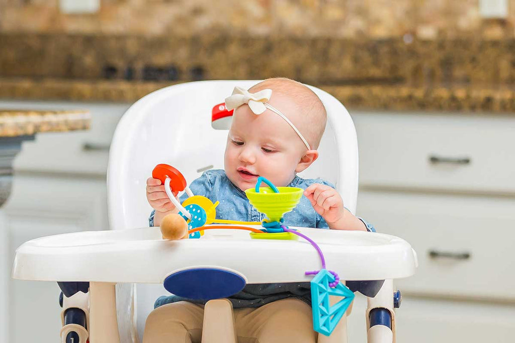 Is the Grapple® safe for my baby to chew on?
