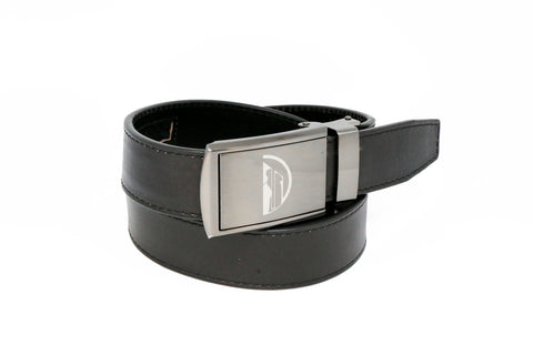 Leather golf belt