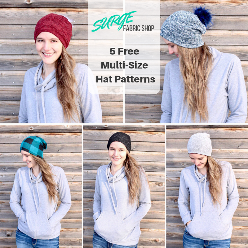 5 Free Hat Patterns!