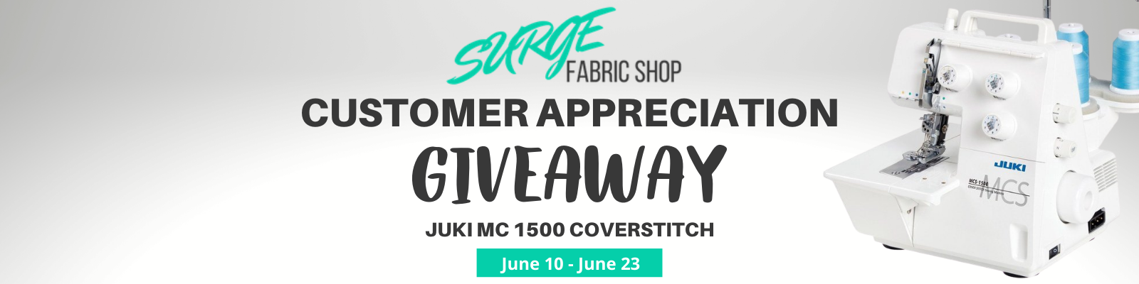 2020 Customer Appreciation Giveaway